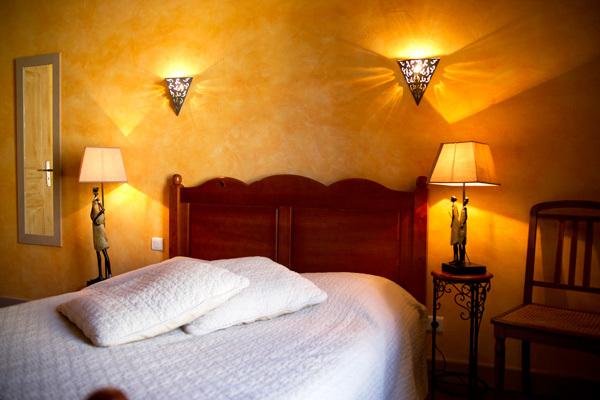 Notre chambre d\'hôtes Orange, 2 couchages à La Romieu - l\'Etape d ...
